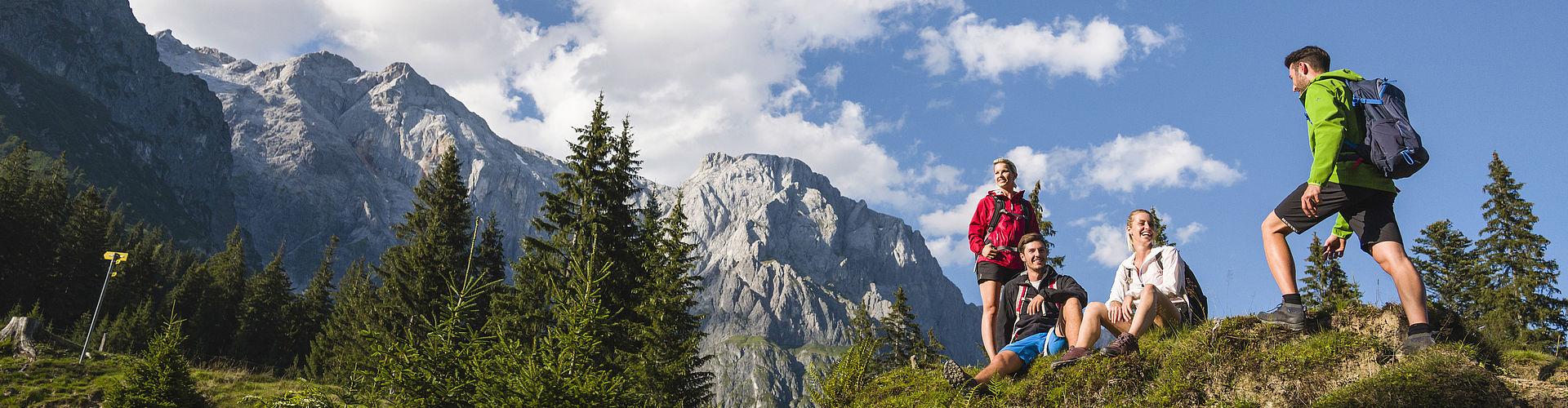 Jobs im Bereich Wandern und Mountainbike